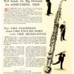 Das Saxofon in F