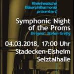 Rheinhessische Bläserphilharmonie: Symphonic Night of the Proms