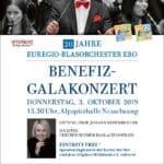 Benefiz-Galakonzert des EUREGIO-Blasorchesters (EBO) zum 20-jährigen Bestehen