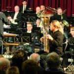 Sächsische Bläserphilharmonie konzertierte mit ECHO Klassik-Preisträger Andreas Hofmeir