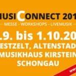 MusiConnect 2017 - Die neue Messe zum Thema Musik für Süddeutschland