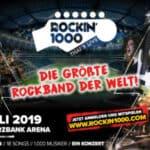 Spiel mit bei den Rockin'1000 - der größten Rockband der Welt - in Frankfurt