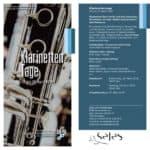 BDB-Musikakademie: Klarinettentage vom 26. bis 29. April 2018 - Ein facettenreiches Spektrum an Fortbildung und Inspiration