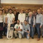 Buchloe bebt! - 27 Tubisten arbeiten im Blasmusik-WorkShop mit Peter Laib