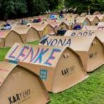 """""""World Blasmusik Days"""" - die Festivalgänger kommen, die Zelte stehen schon"""