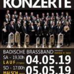 Konzerte 2019 der Badischen Brassband