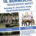 Die 10. Böhmische Musikanten-Nacht in Nesselwang - Blasmusik der Spitzenklasse