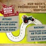 Brass Wiesn Festival 2018 - Nur noch 1.500 Frühbucher-Tickets verfügbar!