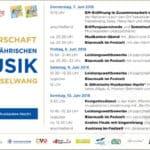 19. Europameisterschaft der böhmischen und mährischen Blasmusik 2018 in Nesselwang