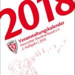 Seminarkalender des Hessischen Musikverbands für das zweite Halbjahr