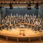 Mario Bürki bei der 29. Internationalen Sommerakademie für Sinfonisches Blasorchester in Marktoberdorf zu Gast