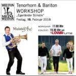 """Kostenloser Workshop """"Egerländer Stilistik"""" für Tenorhorn und Bariton mit Michael Müller"""