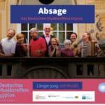 Deutsches Musiktreffen 60plus abgesagt