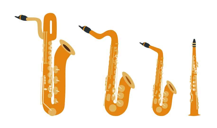 Stichwort Saxofonquartett