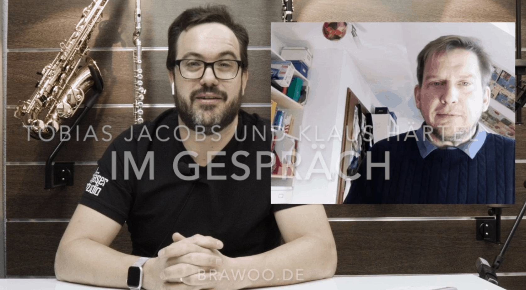 Corona und der Musikalienhandel: Tobias Jacobs, Bläserstudio Koblenz