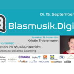 Blasmusik.Digital: Weiterbildung genial digital im September