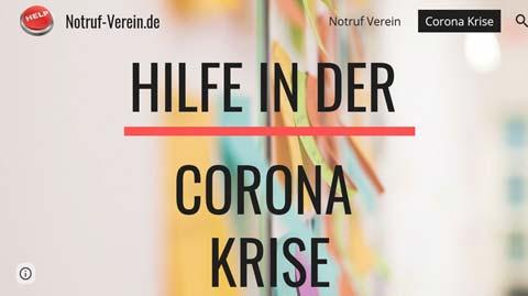 Corona Nothilfe vom Bund Deutscher Blasmusikverbände