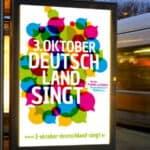Musikalische DANKE-Demo zum Tag der Deutschen Einheit