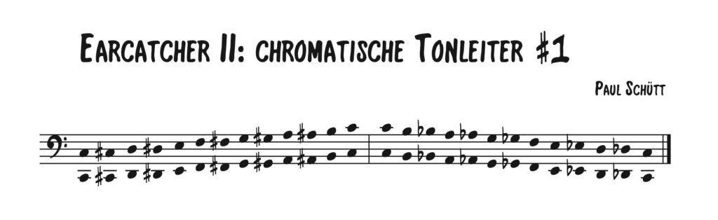 Chromatische Tonleiter