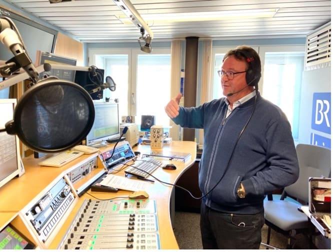 Georg Ried im BR-Heimat-Studio 2021