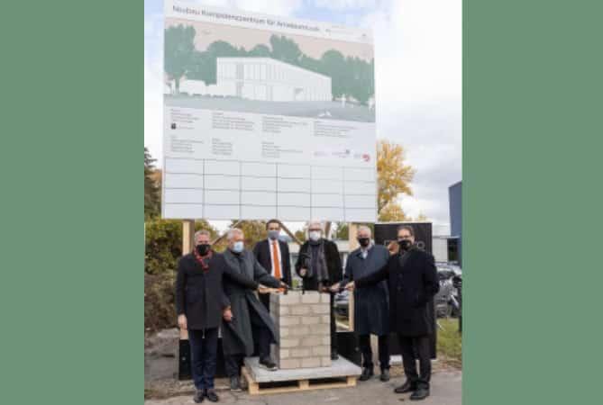 Grundsteinlegung für neue Heimat des Bundesmusikverbands