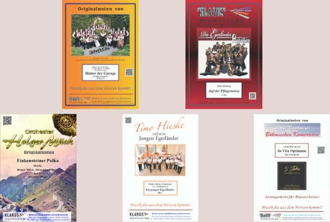 KLARUS Musikverlag Noten-Cover