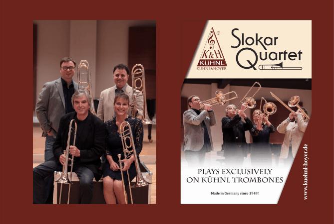 "Neue Formation des ""Slokar-Quartets"""
