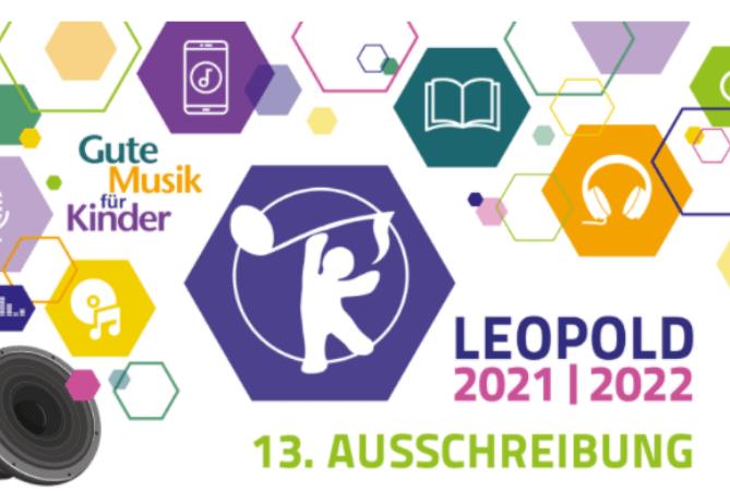 Medienpreis LEOPOLD 2021/2022 – Gute Musik für Kinder