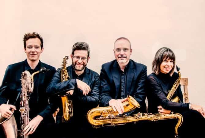 Raschèr Saxophone Quartet