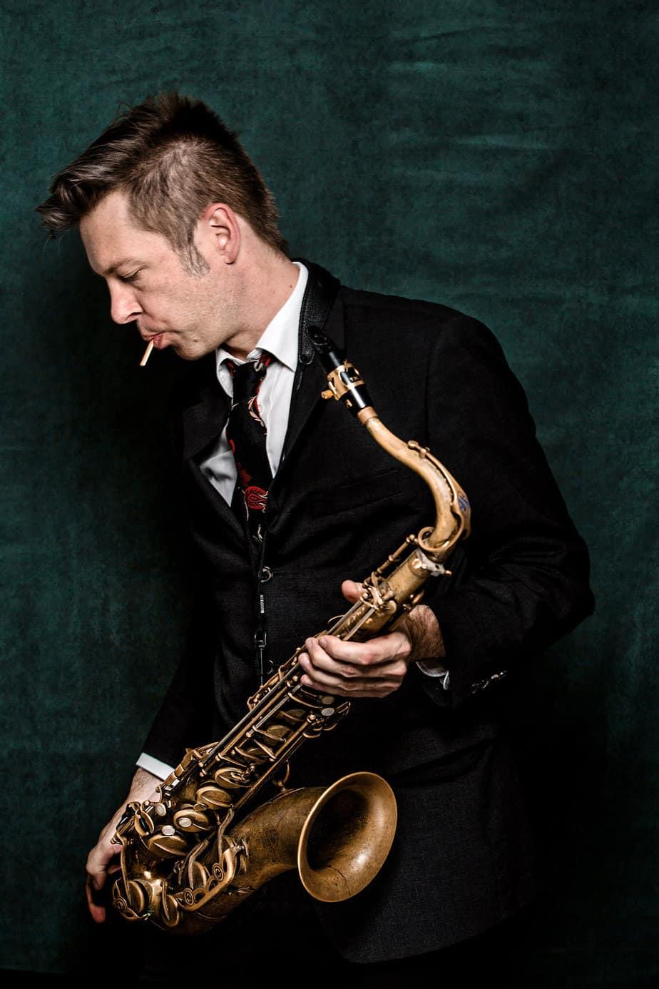 Interview mit Daniel Erdmann über das samtweiche Saxofon