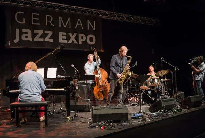 Paul Heller bei der German Jazz Expo 2018