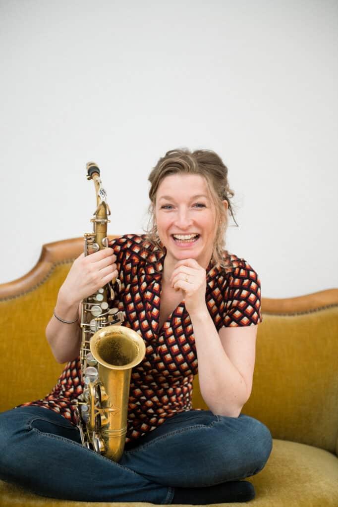 Saxofon Nicole Johänntgen