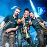 Mit Pauken und Trompeten - Blasmusikfestival rockt Ellmau